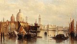 James Holland A View Of Venice painting