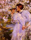 James Jebusa Shannon In The Springtime painting