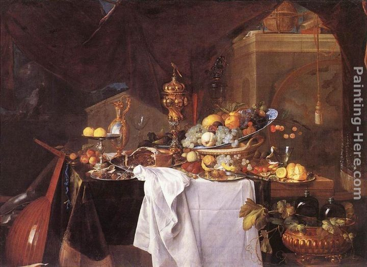 Jan Davidsz de Heem A Table of Desserts