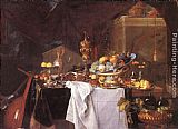 Jan Davidsz de Heem A Table of Desserts painting