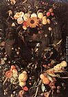 Jan Davidsz de Heem Fruit and Flower Still-life painting