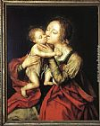 Jan Massys Holy Virgin and Child painting