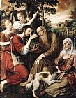 Jan Massys The Healing of Tobit painting