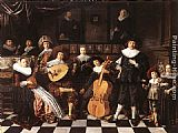 Jan Miense Molenaer Family Making Music painting