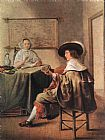 Jan Miense Molenaer The Music-Makers painting