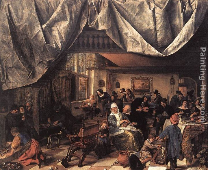 Jan Steen The Life of Man