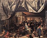 Jan Steen The Life of Man painting