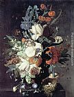Jan Van Huysum A Vase of Flowers painting