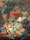 Jan Van Huysum Fruit and Flowers painting