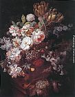 Jan Van Huysum Vase with Flowers painting