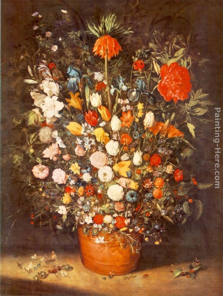 Jan the elder Brueghel Bouquet