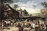 Jan the elder Brueghel St Martin painting
