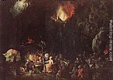 Jan the elder Brueghel Temptation of St Anthony painting