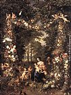Jan the elder Brueghel The Holy Family painting