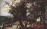 Jan the elder Brueghel The Original Sin painting