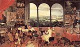 Jan the elder Brueghel The Sense of Hearing painting