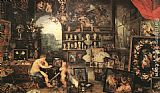 Jan the elder Brueghel The Sense of Sight painting