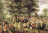 Jan the elder Brueghel Wedding Banquet painting