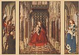 Jan van Eyck Small Triptych painting