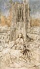 Jan van Eyck St Barbara painting