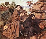 Jan van Eyck Stigmatization of St Francis painting