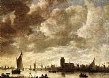 Jan van Goyen View of the Merwede before Dordrecht painting