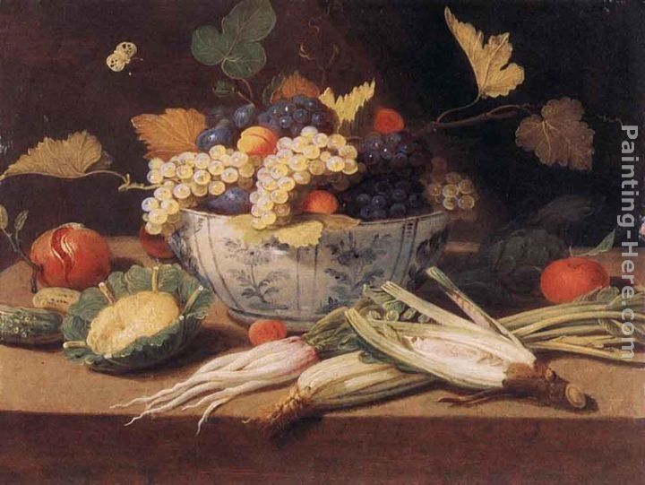 Jan van Kessel Still-life with Vegetables