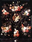 Jan van Kessel Holy Family painting