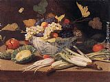 Jan van Kessel Still-life with Vegetables painting