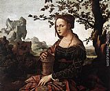 Jan van Scorel Mary Magdalene painting