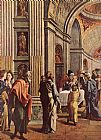Jan van Scorel Presentation of Jesus in the Temple painting