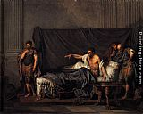 Jean Baptiste Greuze Septimius Severus and Caracalla painting