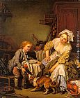 Jean Baptiste Greuze The Spoiled Child painting