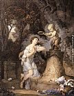Jean Baptiste Greuze Votive Offering to Cupid painting