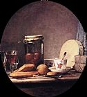 Jean Baptiste Simeon Chardin Still Life with Jar of Apricots painting