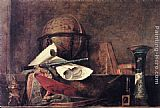 Jean Baptiste Simeon Chardin The Attributes of Science painting
