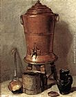 Jean Baptiste Simeon Chardin The Copper Drinking Fountain painting
