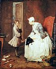 Jean Baptiste Simeon Chardin The Governess painting