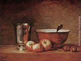 Jean Baptiste Simeon Chardin The Silver Cup painting
