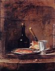 Jean Baptiste Simeon Chardin The Silver Goblet painting