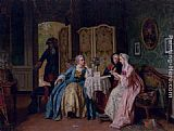 Jean Carolus The Letter painting