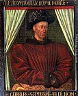 eze cote dazur france Paintings - Charles VII, King Of France