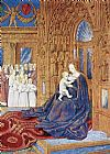 Jean Fouquet The Madonna before the Cathedral painting