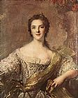Jean Marc Nattier Madame Victoire painting