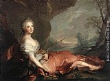 eze cote dazur france Paintings - Marie Adelaide of France as Diana