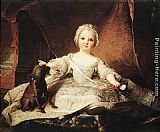 Jean Marc Nattier Portrait of Madame Maria Zeffirina painting