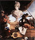 Jean-Baptiste Oudry Allegory of Europe painting