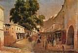 Jean-Charles Langlois Algeria painting