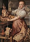 Joachim Beuckelaer The Cook painting