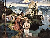 Joachim Patenier Baptism of Christ painting